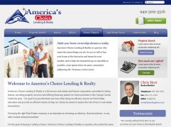AC Lending & Realty - Real Estate Orange County Web Design