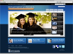 CSUF - Cal State University Website Design